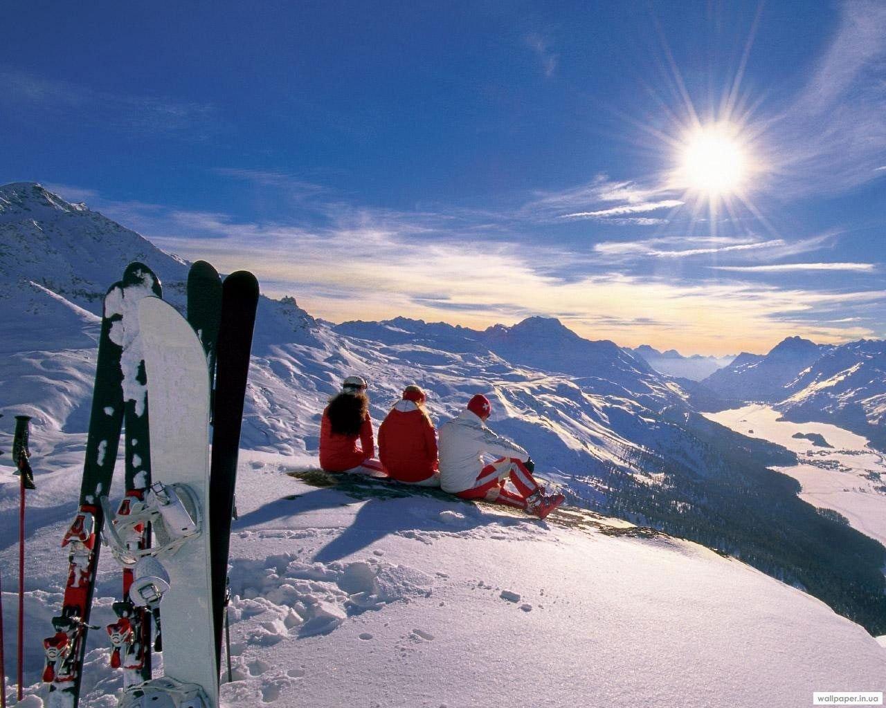 Альпы. Горнолыжные курорты Италии