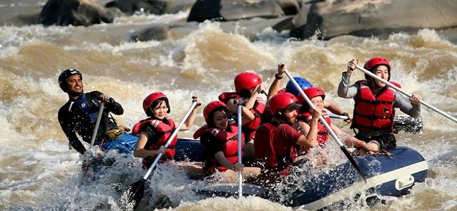 Рафтинг по бурной реке Падас, 4-й уровень