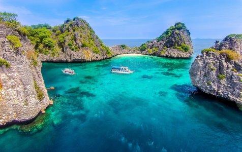 Затерянные острова Ко-Хаа и Ко-Рок