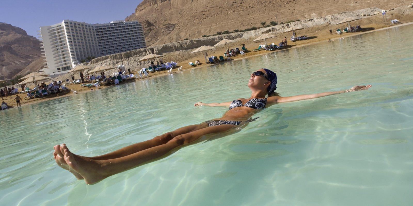 Целебные воды Мертвого моря!