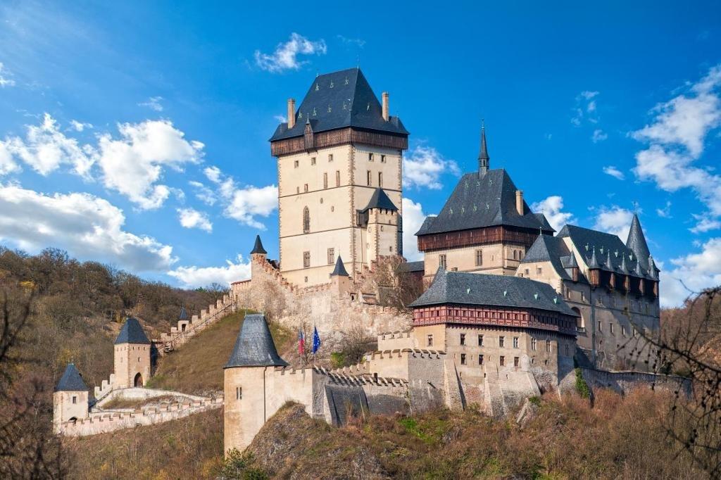 Крепость Карлштейн и замок Конопиште