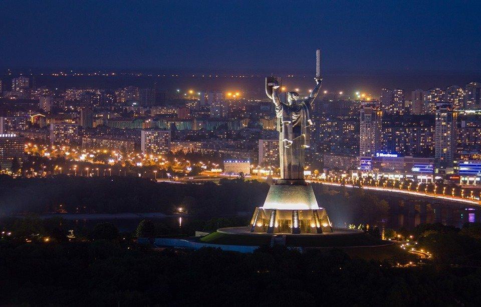 Киев вечерний и ночной