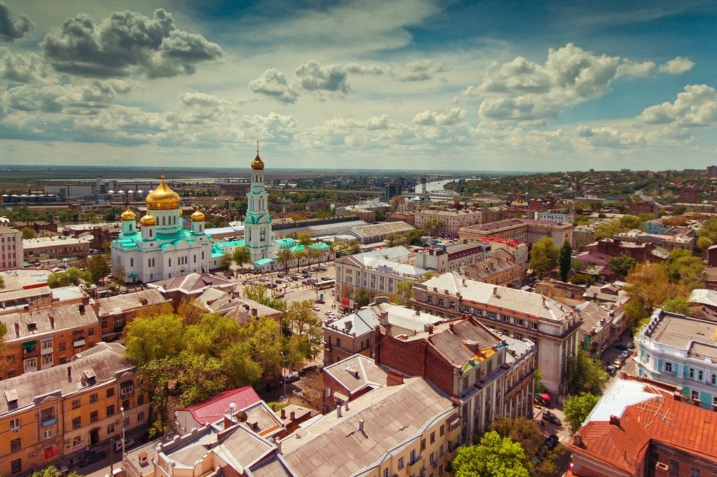 18 апреля 2021 Обзорная экскурсия по Ростову-на-Дону