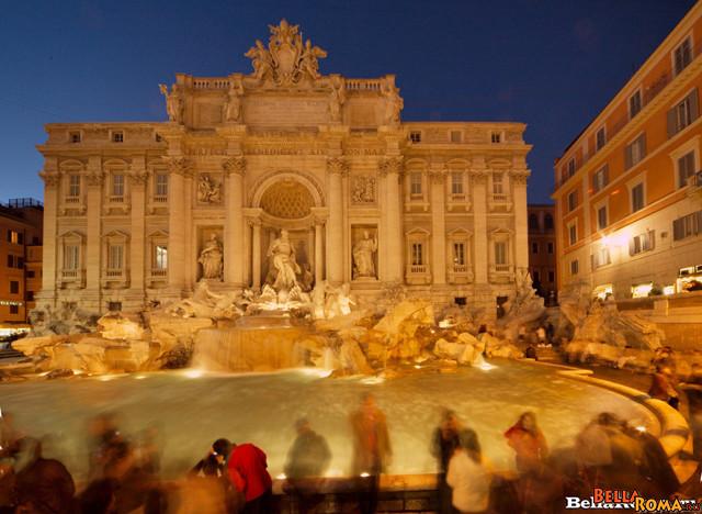 прогулка по Ночному Риму
