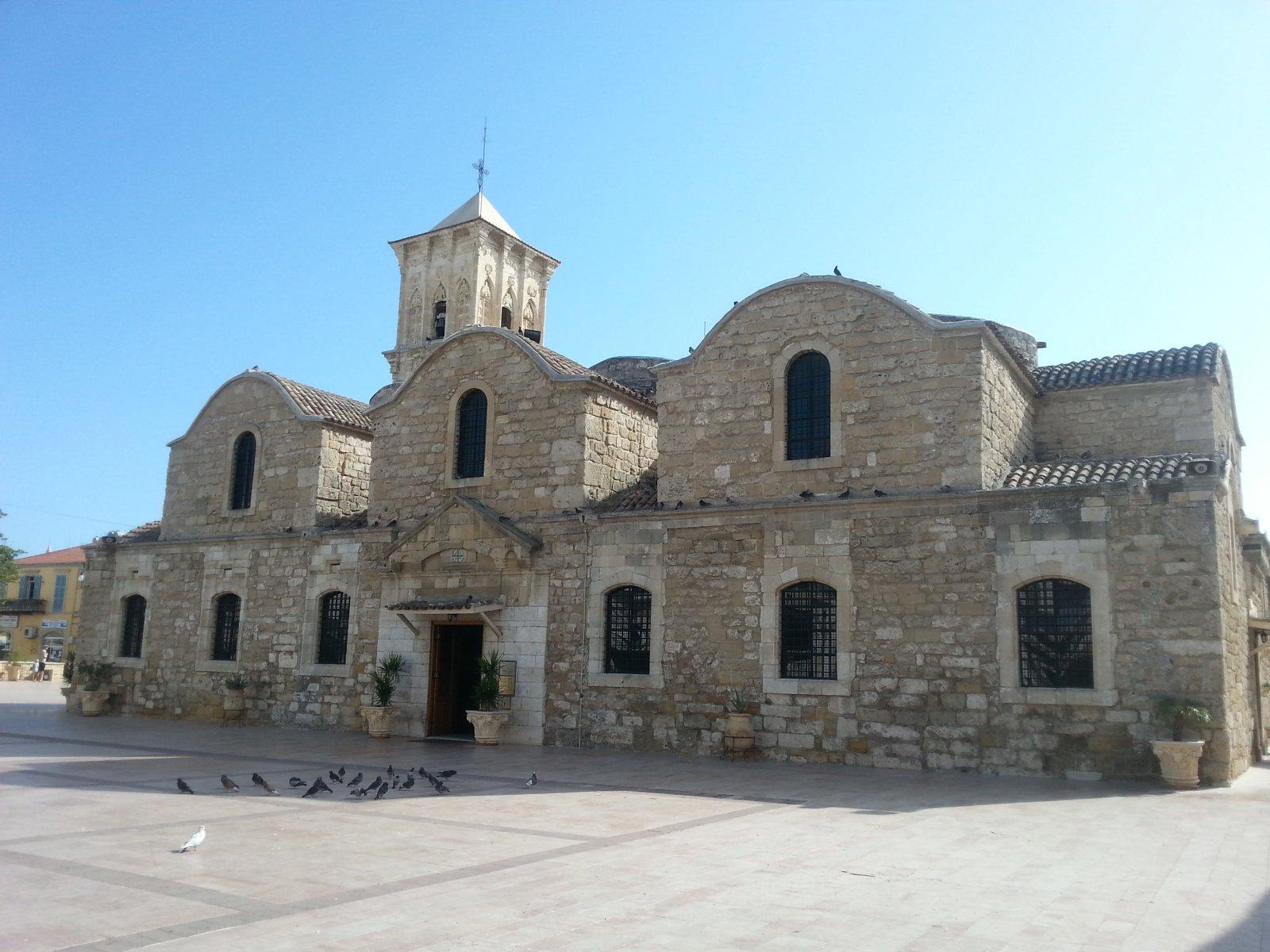 Поездка в Ларнаку. Поездка в Эпископио (новая русская церковь)