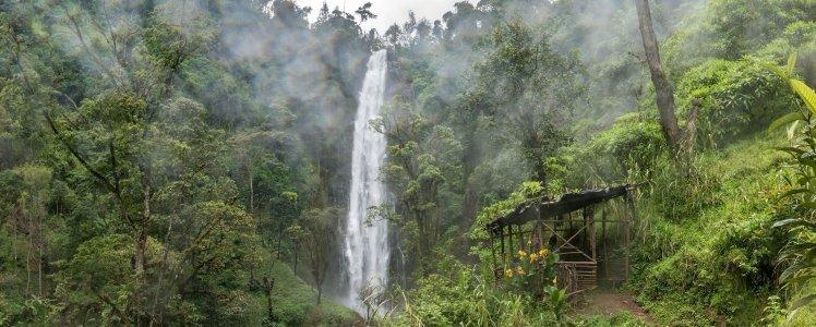 Водопад Матеруни и кофейные плантации