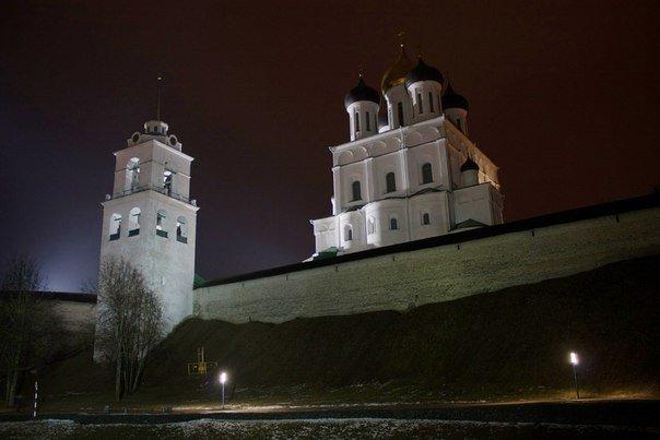 Сердце древнего Пскова — Кремль. Пешеходная экскурсия