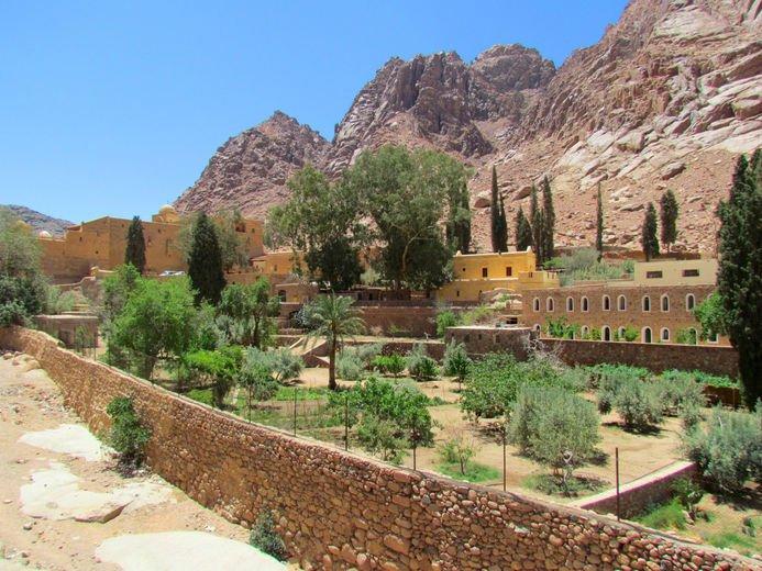 Христианские святыни — монастырь св. Екатерины