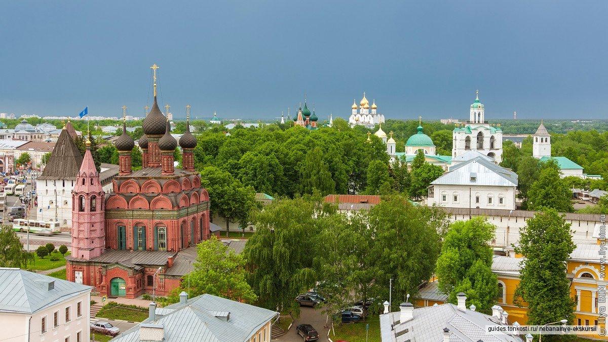 Классика жанра: обзорная экскурсия по Ярославлю