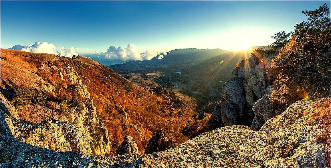 Водопад Джур-Джур и гора Демерджи