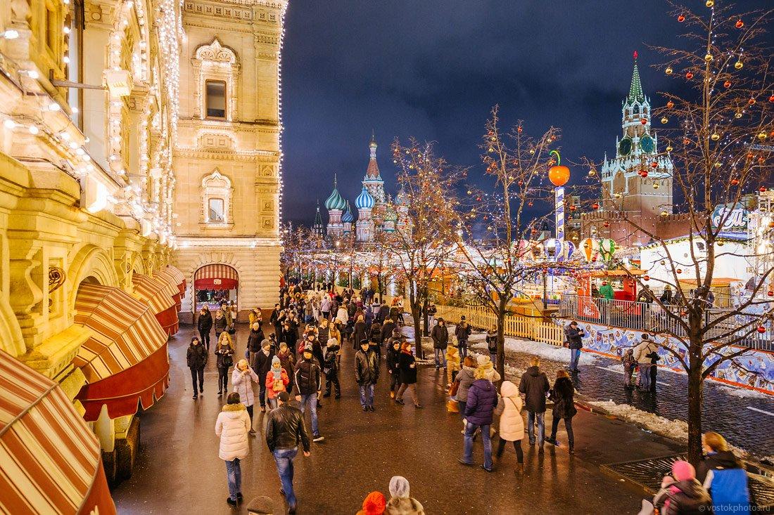 Прогулка по историческому центру Москвы