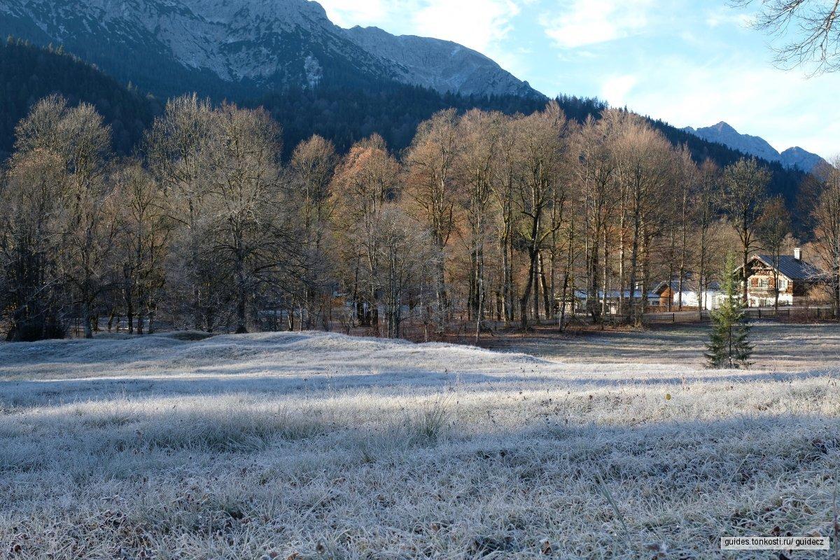 Замки Баварии: Линдерхоф и деревня Обераммергау
