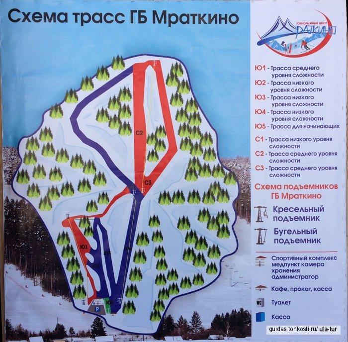 Горнолыжный тур в Абзаково и Мраткино ( 2 дня)