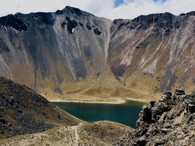 Вулкан Невадо де Толука и космовитраль Толуки
