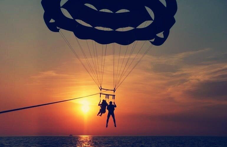 Парасейлинг — захватывающее приключение