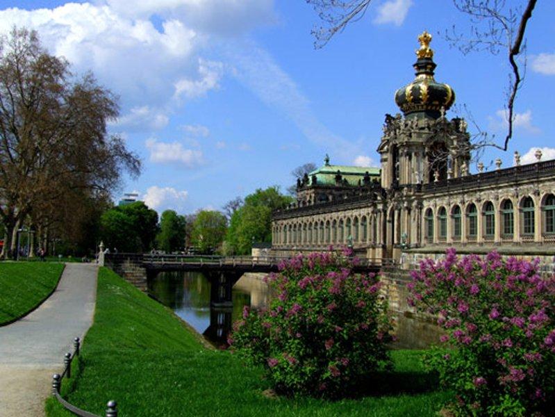 Дрезден из Праги