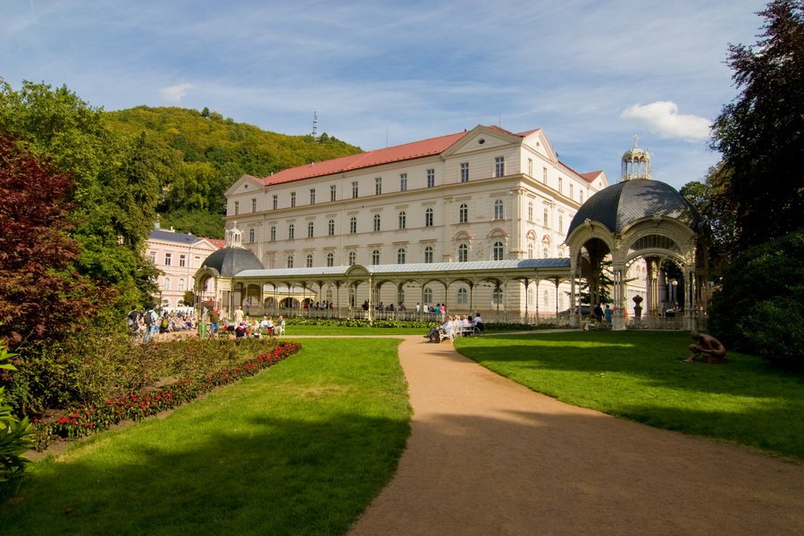 Карловы Вары и замок Локет