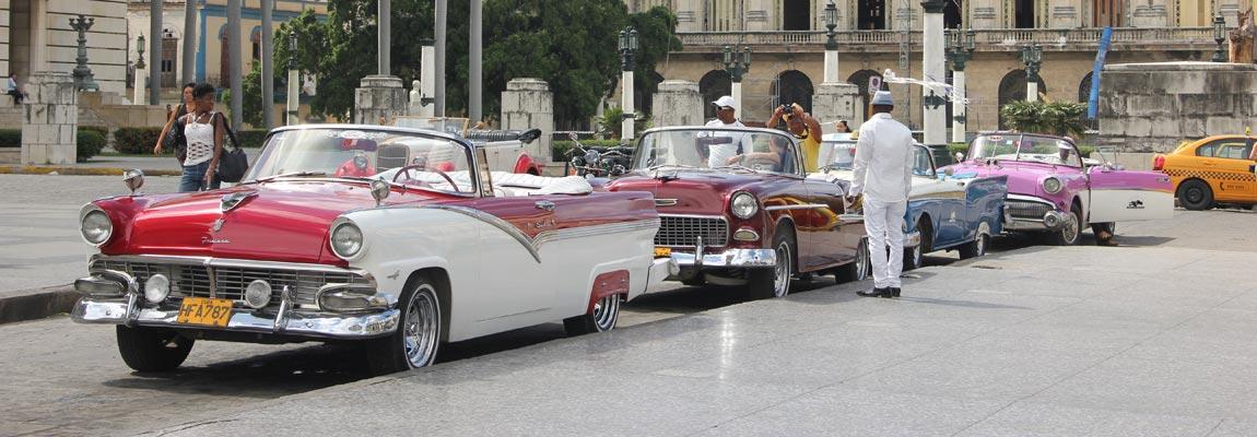 Вся Гавана на ретро-кабриолете