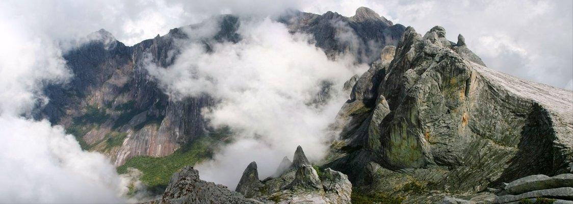 Восхождение на Гору Кинабалу (4095 м высотой)