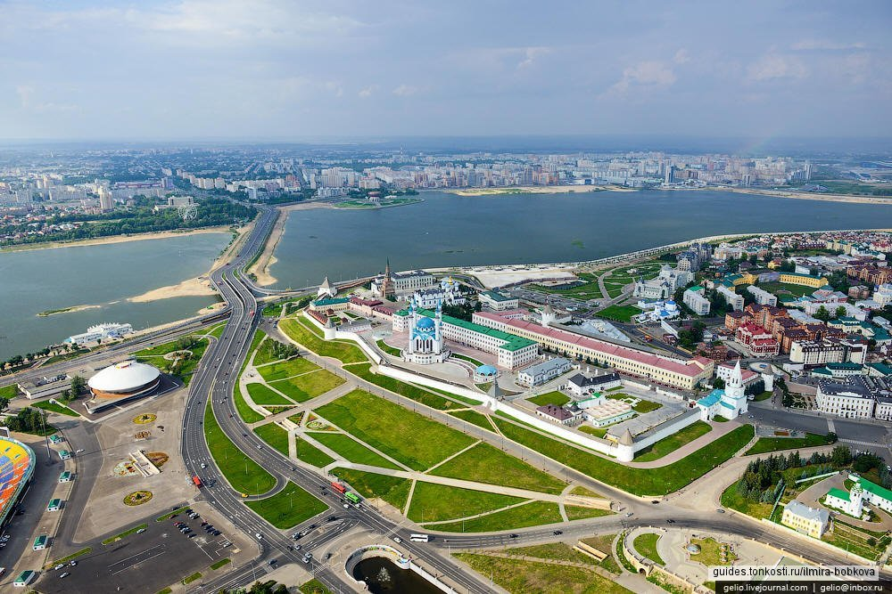 Казань — город славный, с белокаменным Кремлем (автобусно-пешеходная экскурсия)