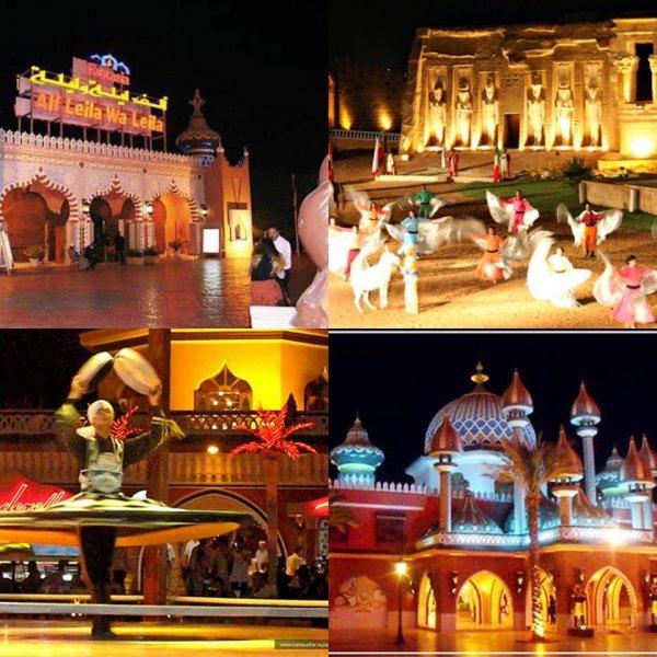 Дворец «1001 ночь» из Шарм-эль-Шейха
