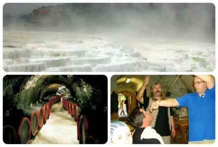 Эксклюзивные термы «венгерского Памуккале» и Эгер — родина красного вина мужской силы «Бычья кровь»