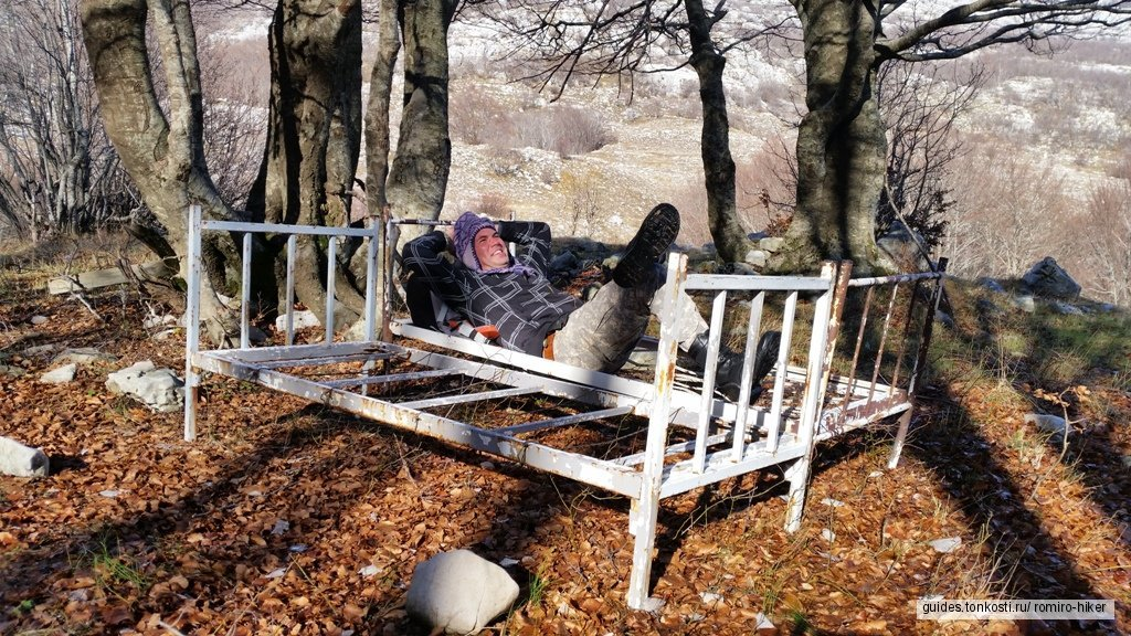 Однодневный поход над Герцег-Нови (15 км)