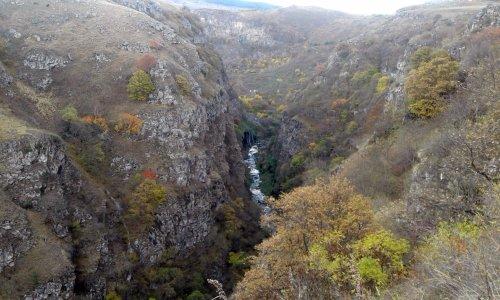 Дашбашский каньон, водопад «Хрустальная занавеска» — Джавахетские озера
