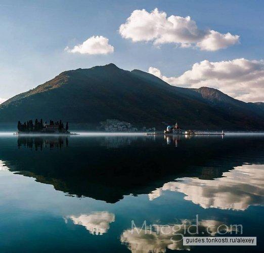 По Боко-Которской бухте на автомобиле и лодке