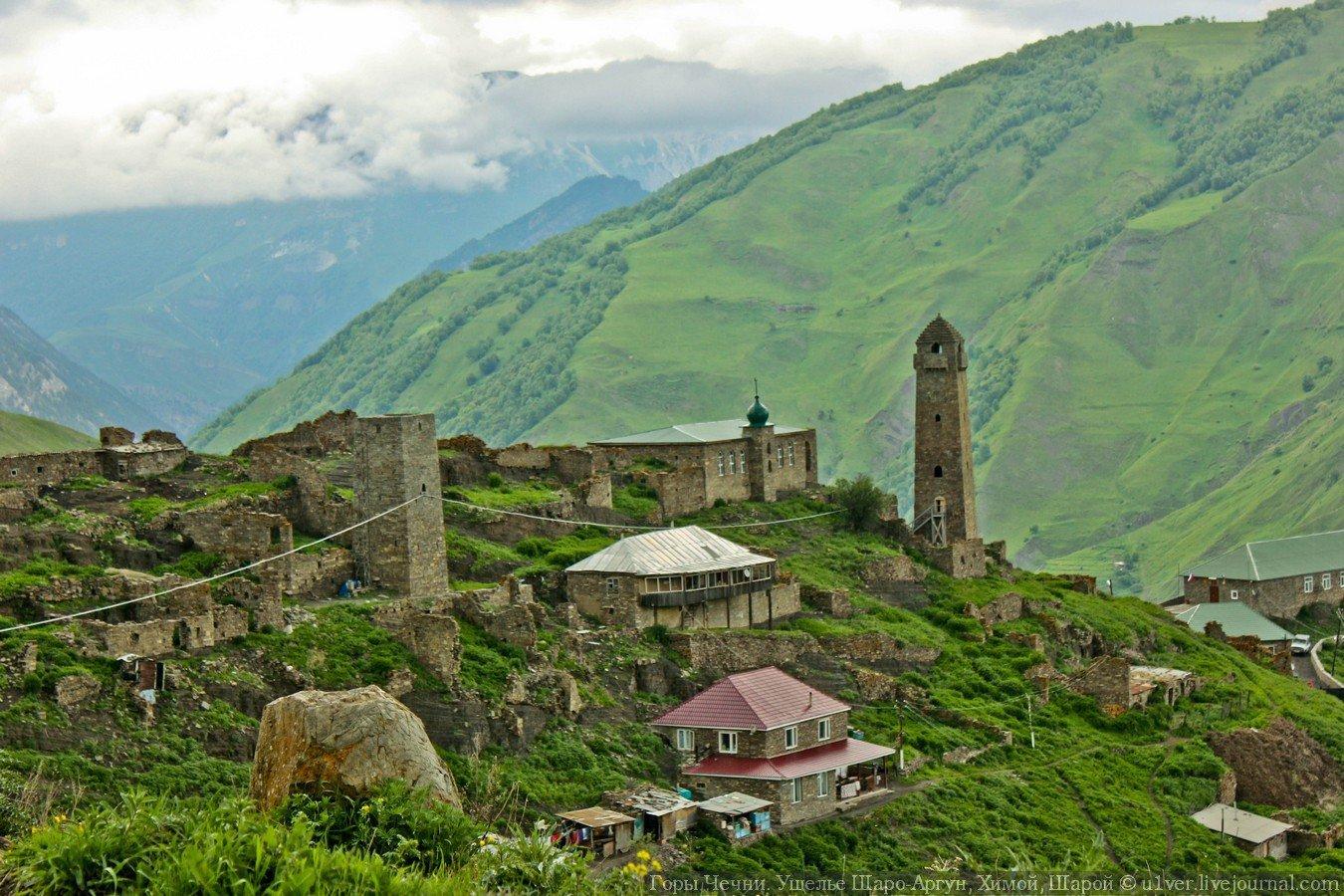 Джип-тур по горам Чечни