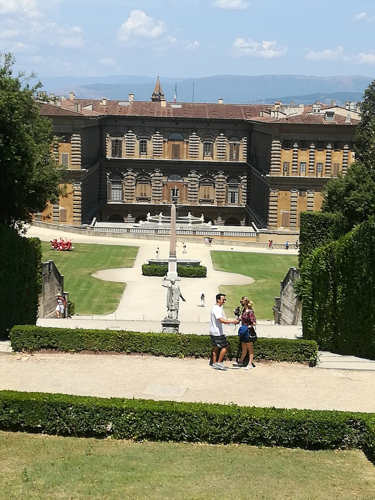 Флоренция: левый берег Арно с садами Боболи и Бардини