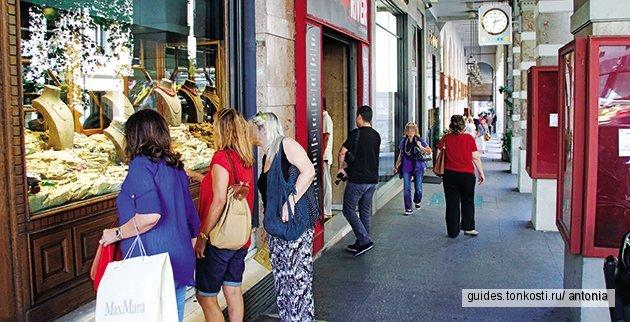 Шоппинг-прогулка в центре Афин