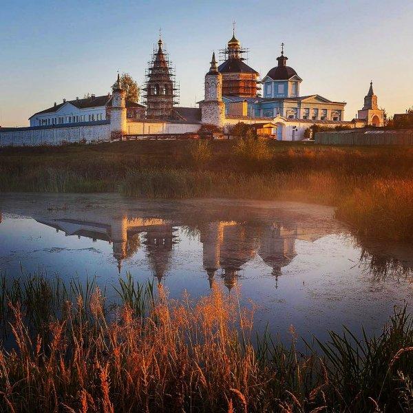Обитель на берегу Москвы-реки — Бобренев монастырь