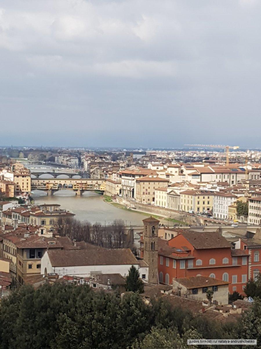 Обзорная экскурсия с посещением площади Микеланджело