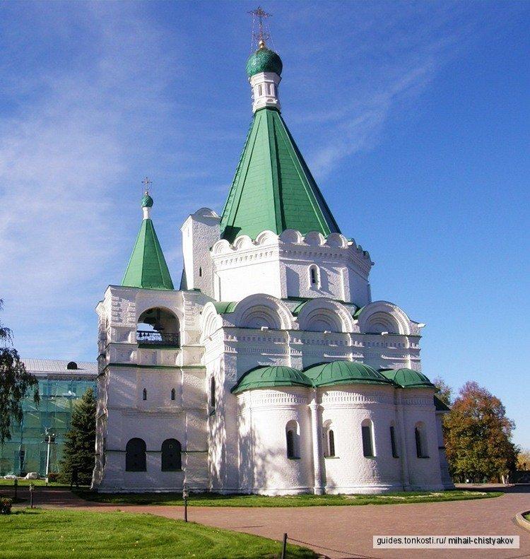 Сердце Нижнего Новгорода — Нижегородский кремль