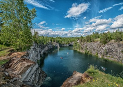 Северное Приладожье и Горный парк Рускеала