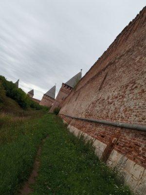 Путешествие по Смоленской крепостной стене