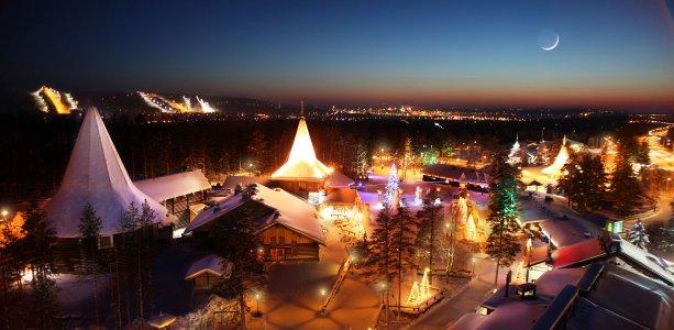 Лапландия: Экскурсия в деревню Санта Клауса и посещение Санта Парк