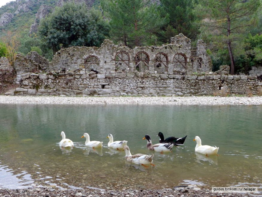 Античный город Олимпос + горящая гора Янарташ (Химера)