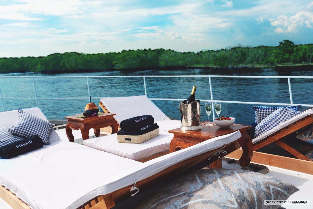 Морской круиз на яхте HARUKU к островам Бали