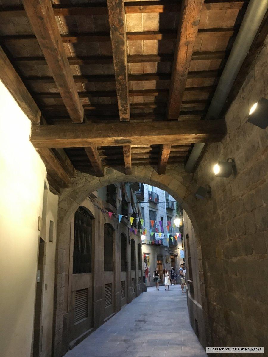 Путешествие по готическому кварталу