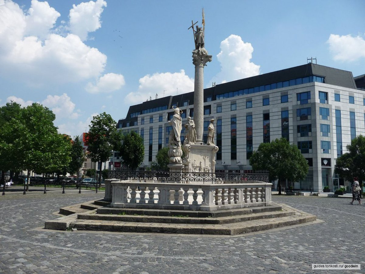 Братислава — тёмная жемчужина Дуная
