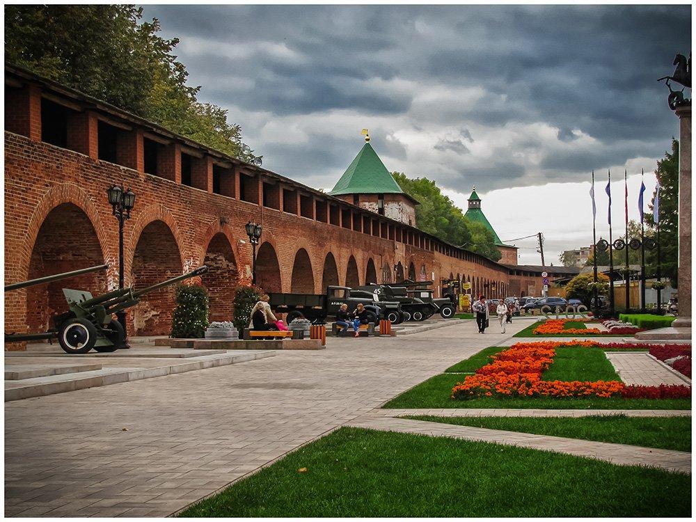 Каменное ожерелье (пешеходная экскурсия по Нижегородскому кремлю)