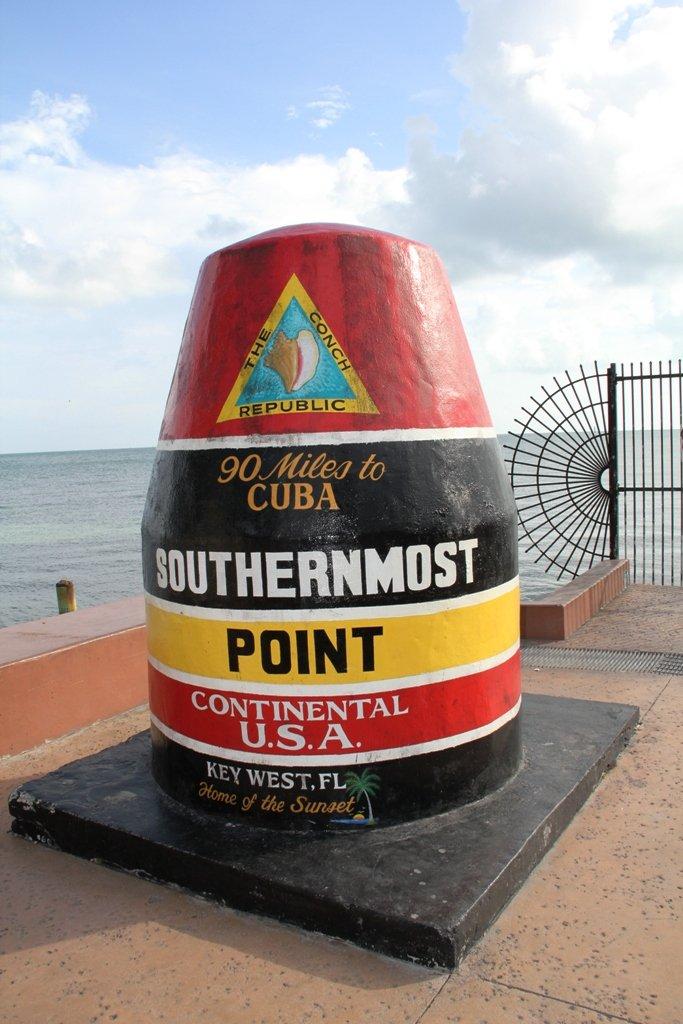 Поездка на остров Ки Вест (Key West) — самая южная точка США