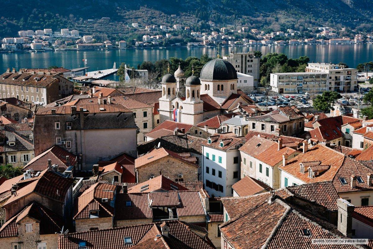 Которский залив + фешенебельный Порто Монтенегро