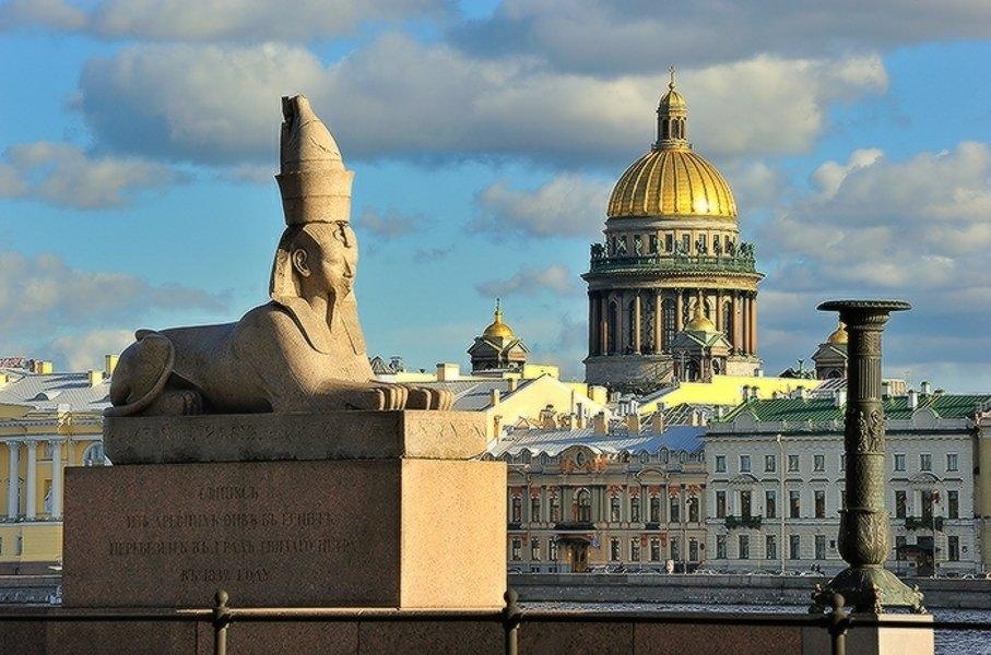 Первое знакомство. Обзорная экскурсия по Санкт-Петербургу.