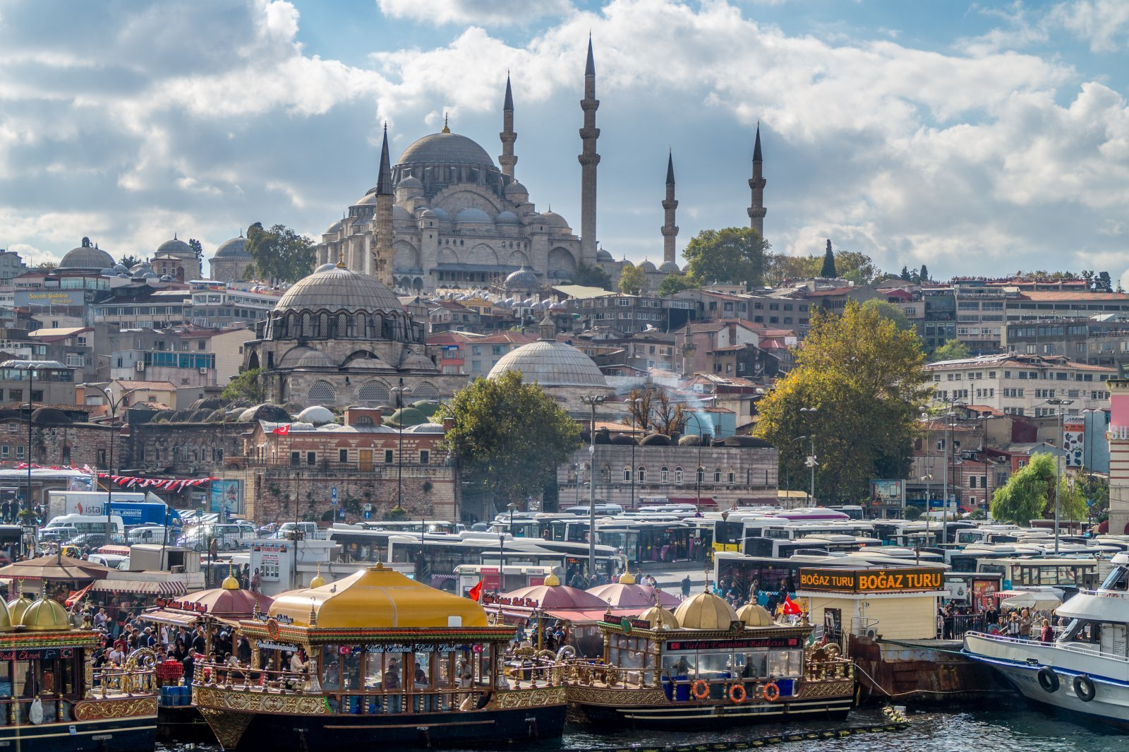 Тур в Стамбул из Анталии — Кемера — Белека — Аланьи — Сиде
