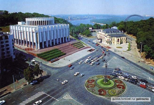 Большая пешеходная прогулка по Киеву