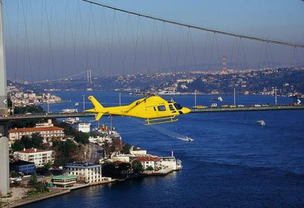 Тур на вертолете над Стамбулом