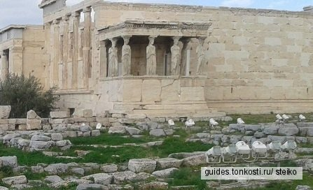 Афины. Классические храмы
